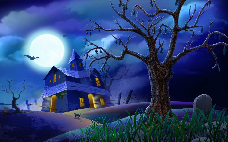 120+ Scary and also cute Halloween wallpaper images