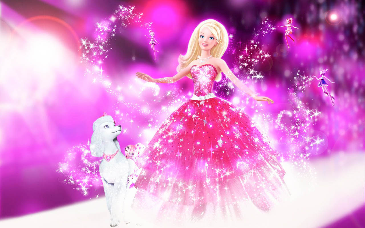 barbie-pink-wallpaper