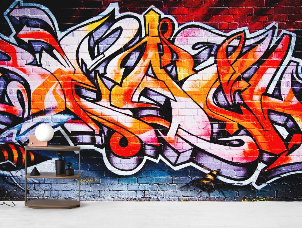 A Fresh Look With Graffiti Wallpaper Ideas