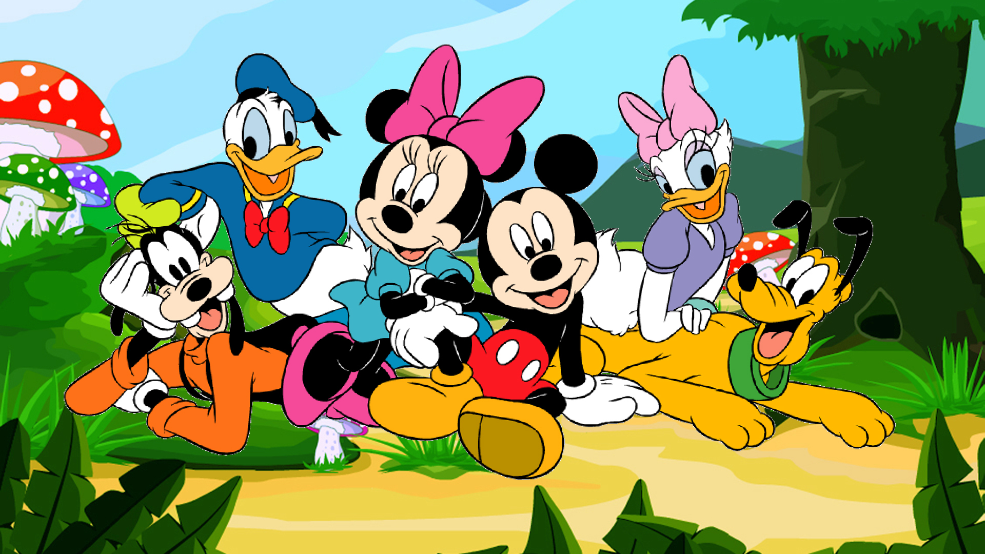 60+ The Awesome Disney Cartoon Wallpaper Themes