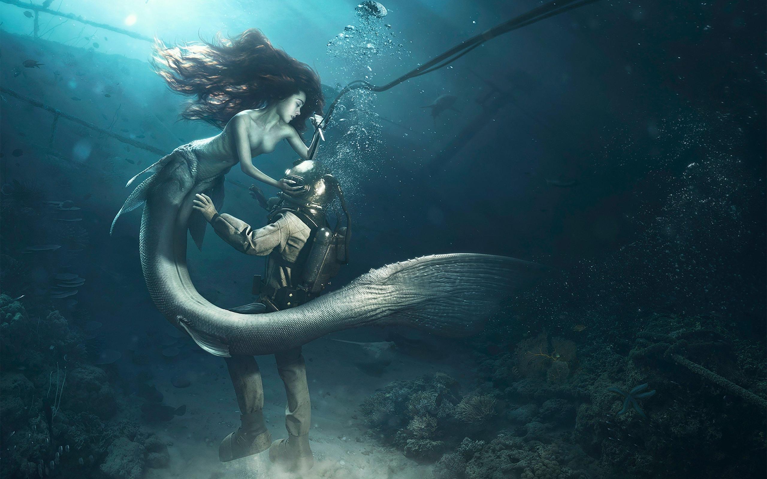 Get the Best Mermaid Wallpaper by Using Mobile Software