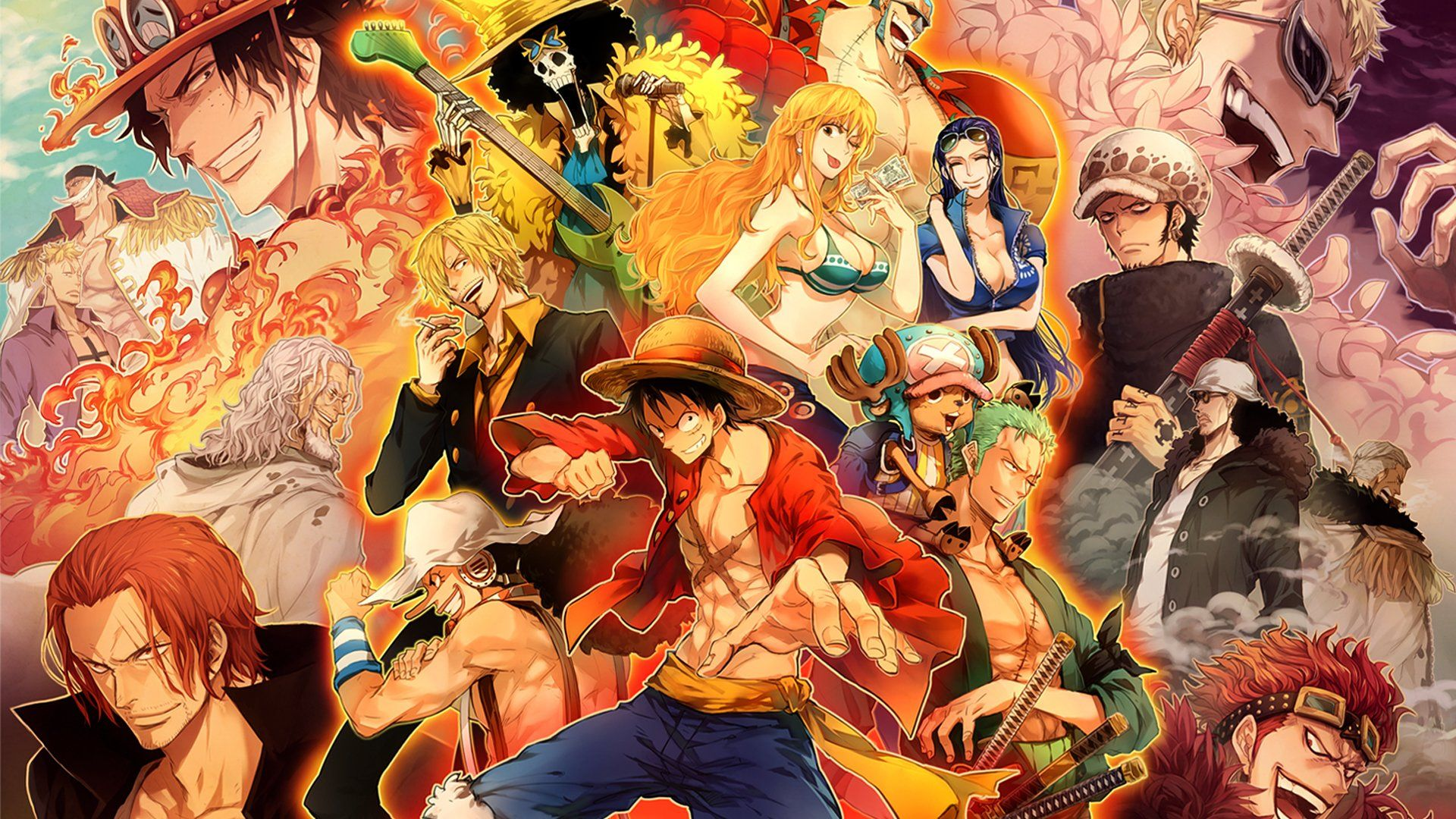 Why You Should Consider One piece wallpaper