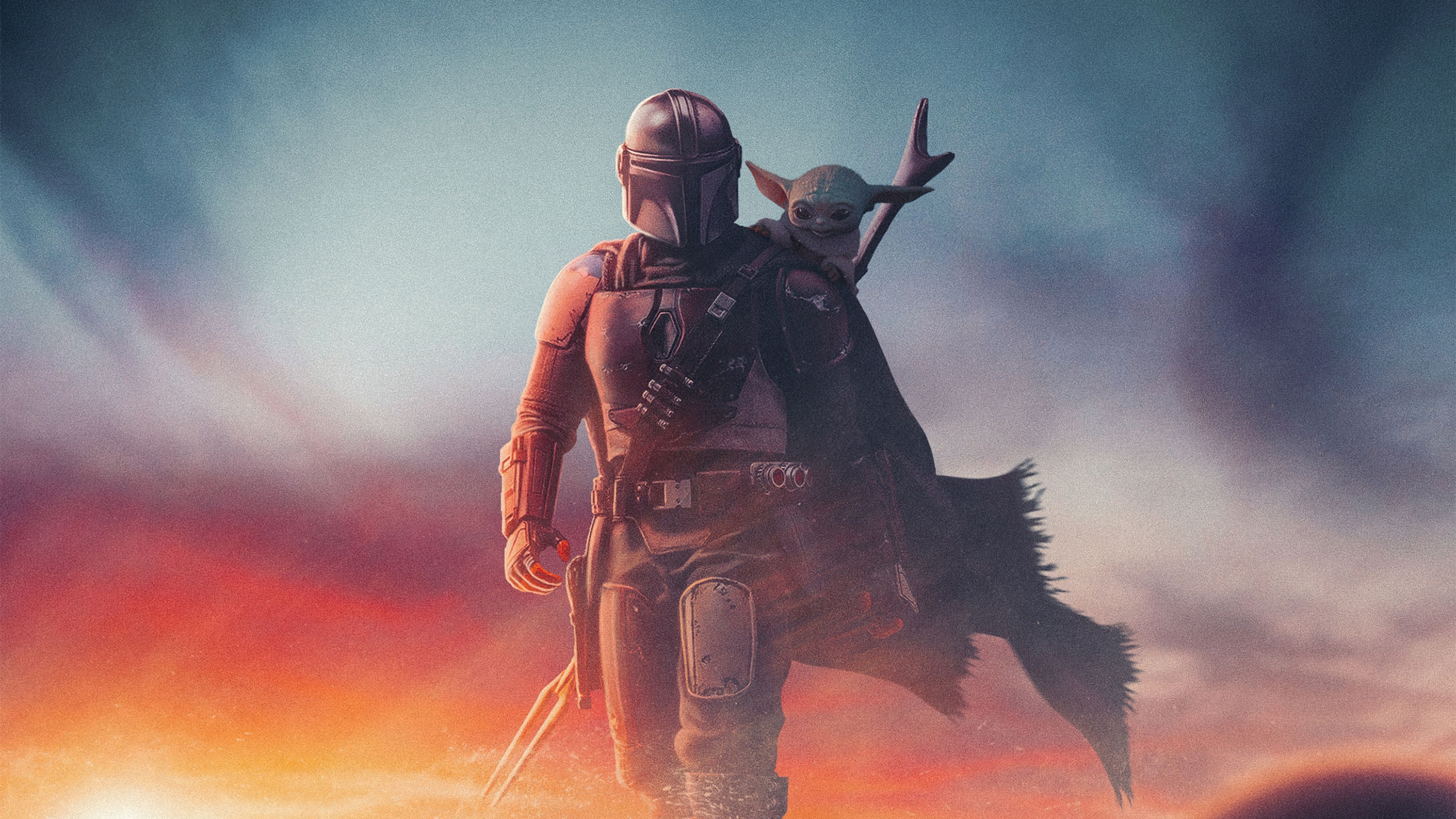 The Mandalorian Wallpaper – A Gift to the Bride Who Was Married by VN Kumar