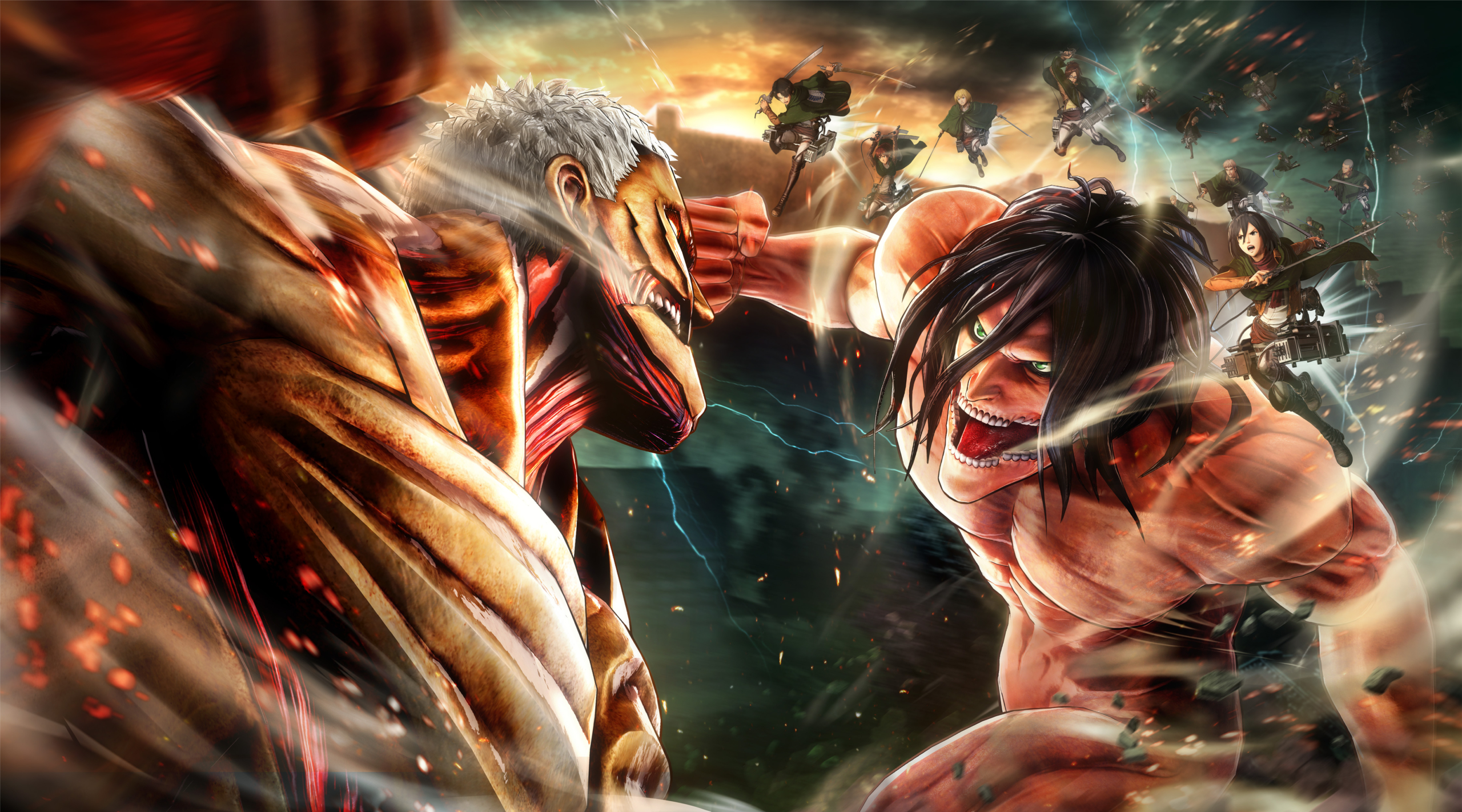 Download the Best Attack on Titan Wallpaper