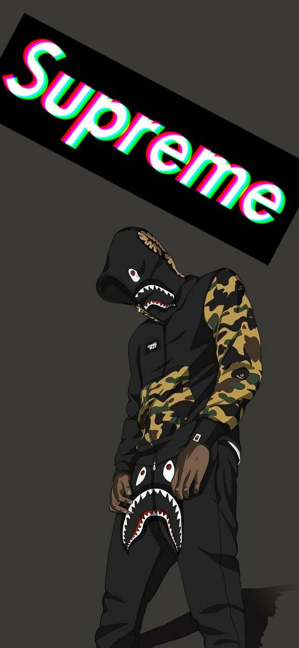 Cool Supreme Wallpapers for Mobile - Clear Wallpaper
