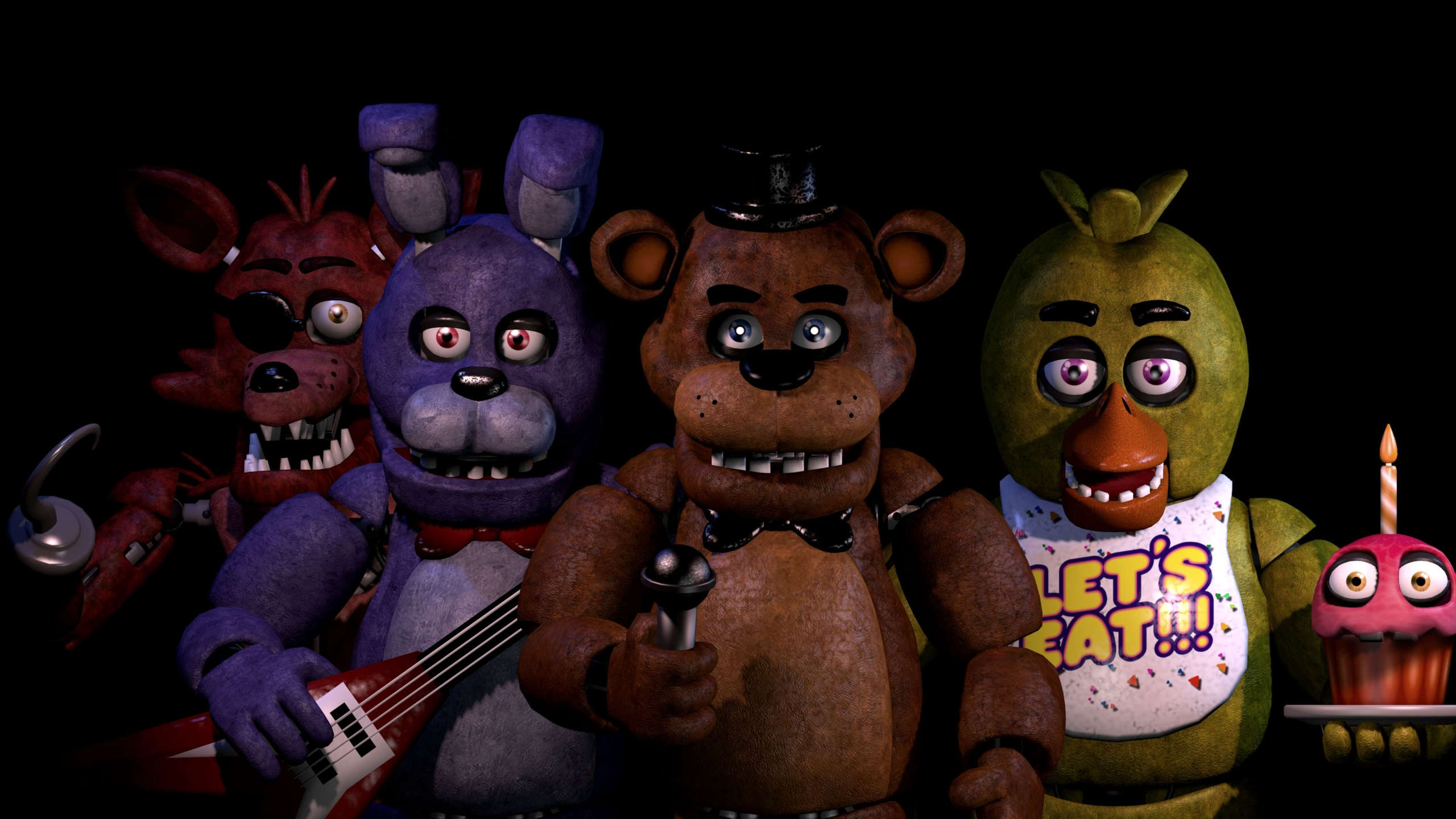 A New and Improved Version of Fnaf Wallpaper