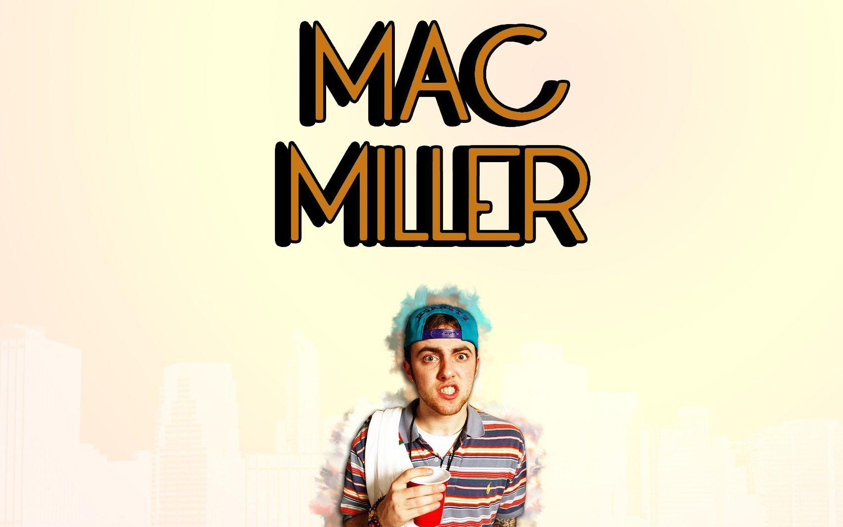 Mac Miller Wallpaper – Create a Personalized Look on Your Mobile Phone