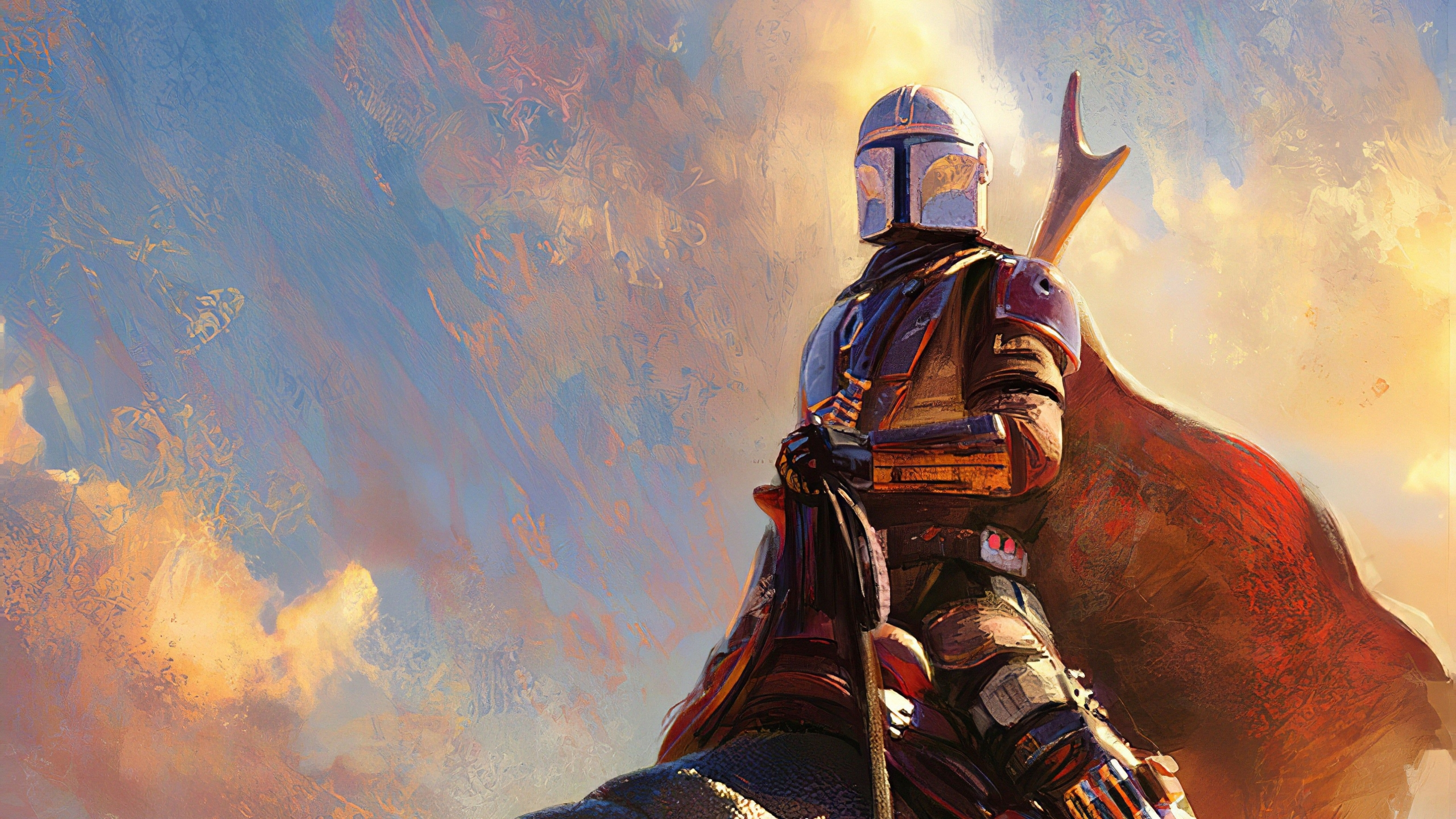 How To Change the Desktop Wallpaper with Mandalorian