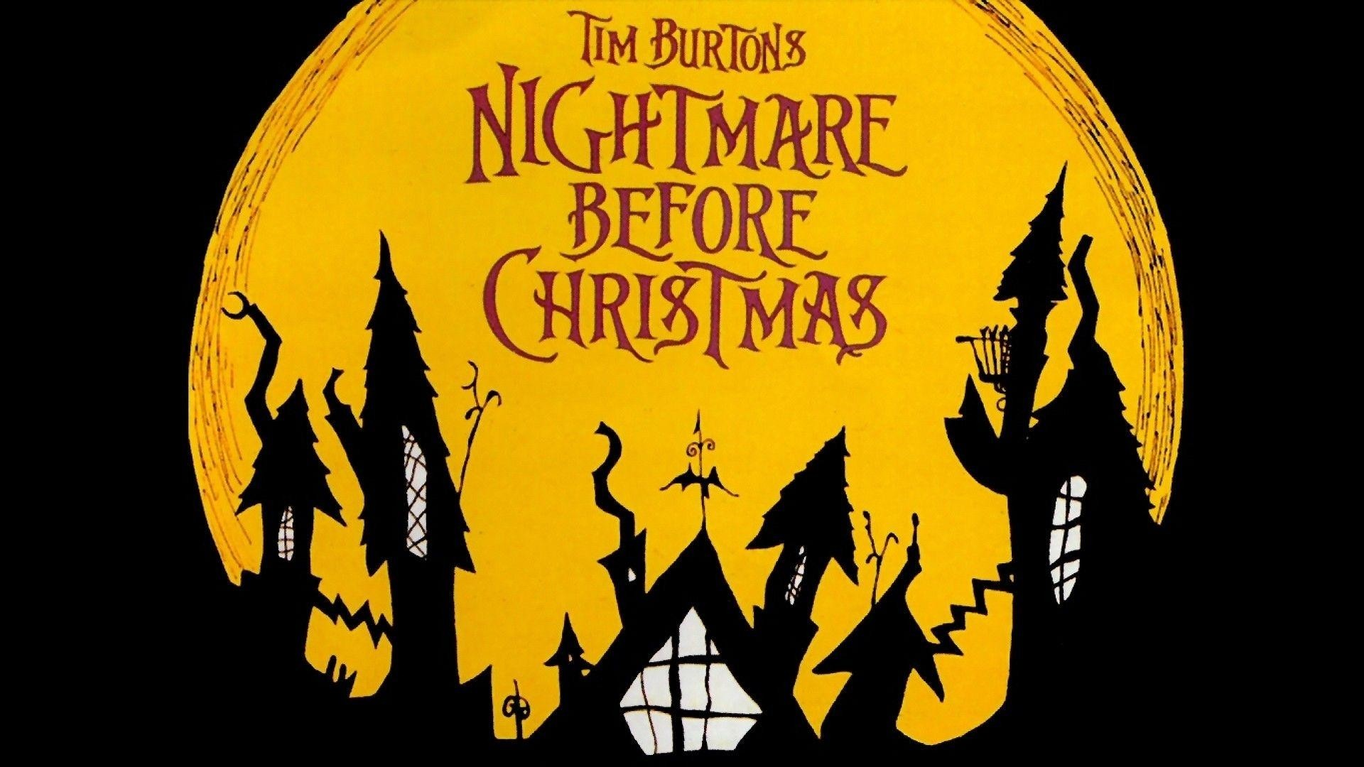 Nightmare Before Christmas Wallpaper Ideas