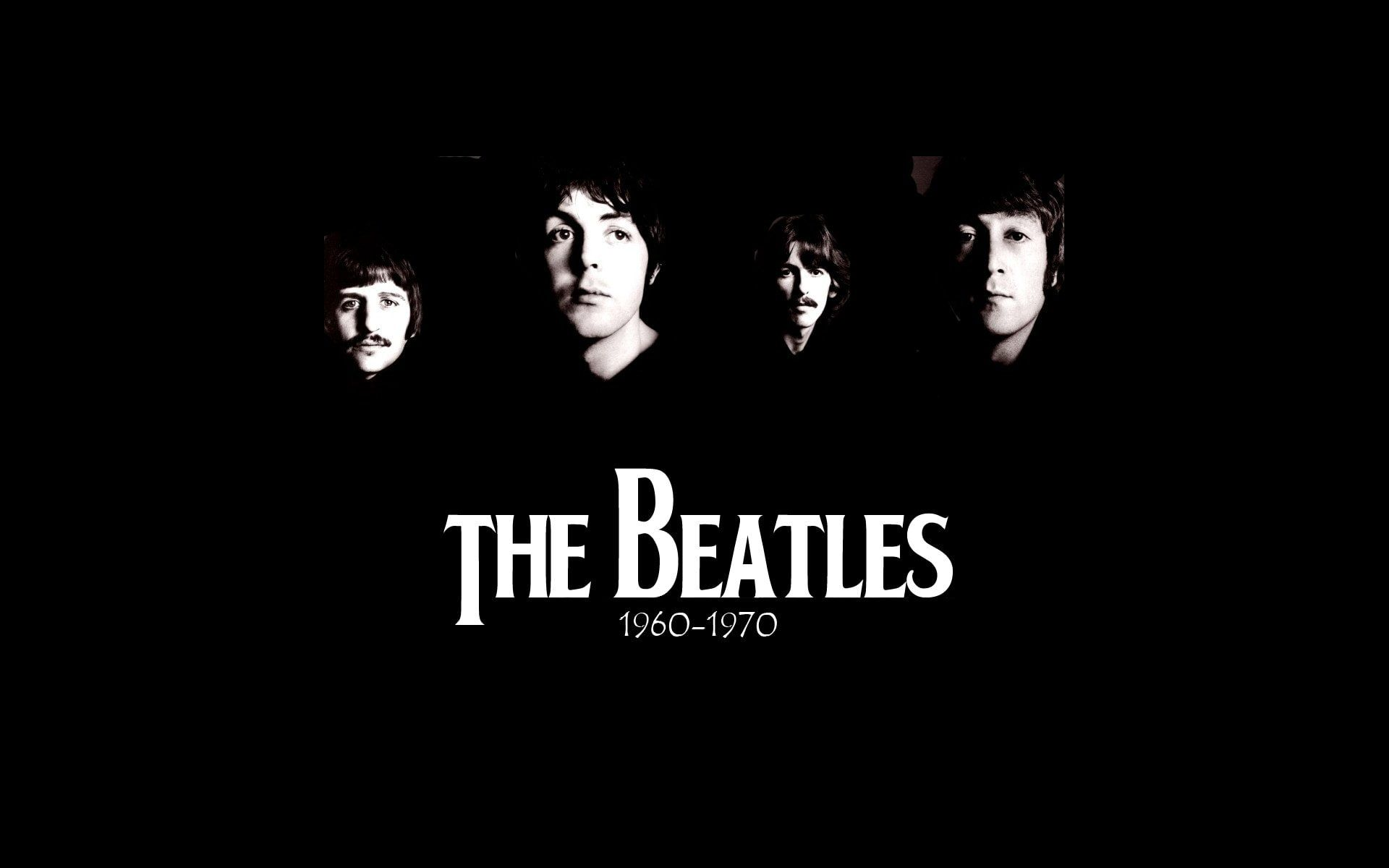 The Beatles Wallpaper and the Most Famous Face