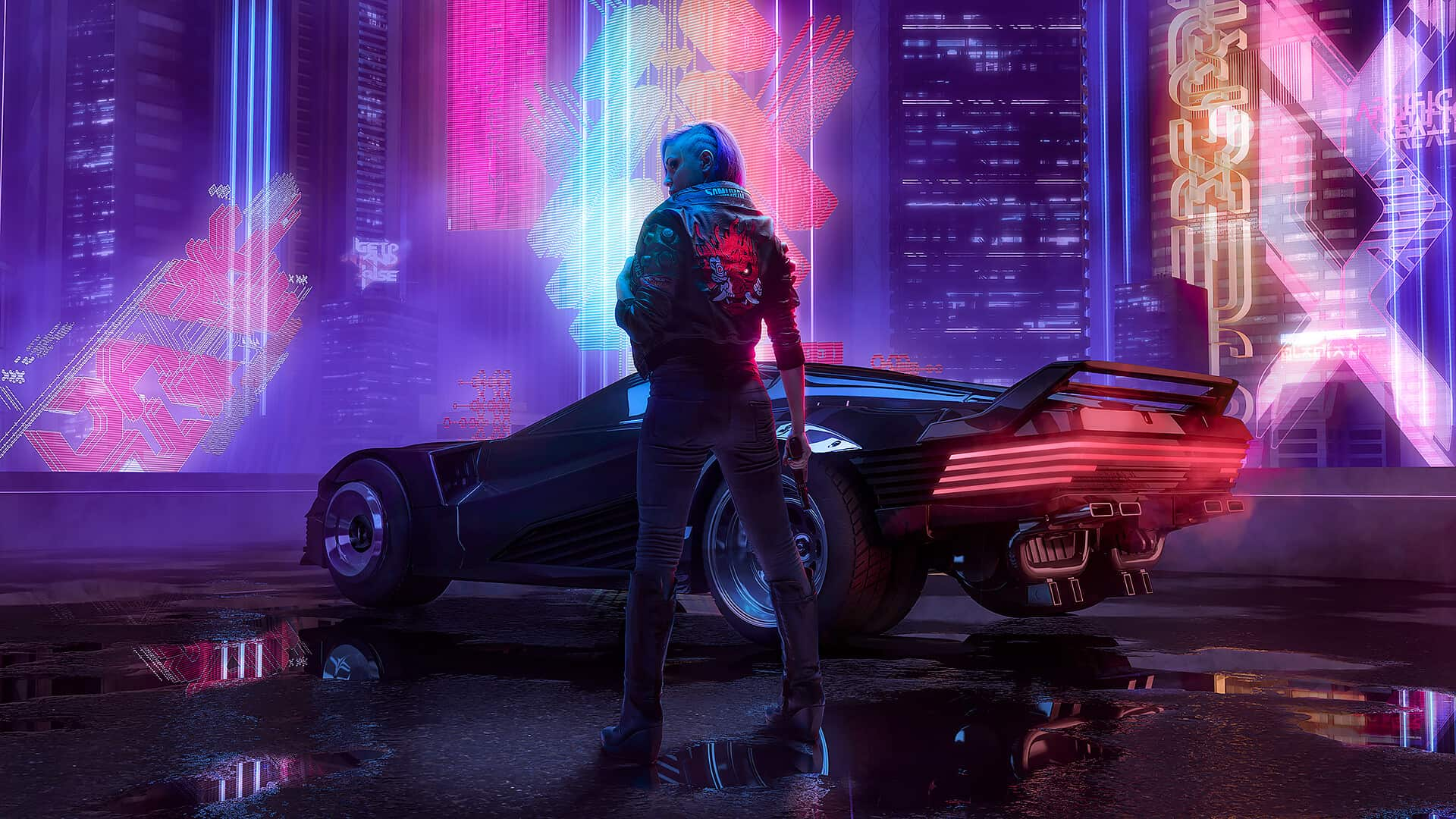 Cyberpunk 2077 Wallpaper For Your Chrome New Tab