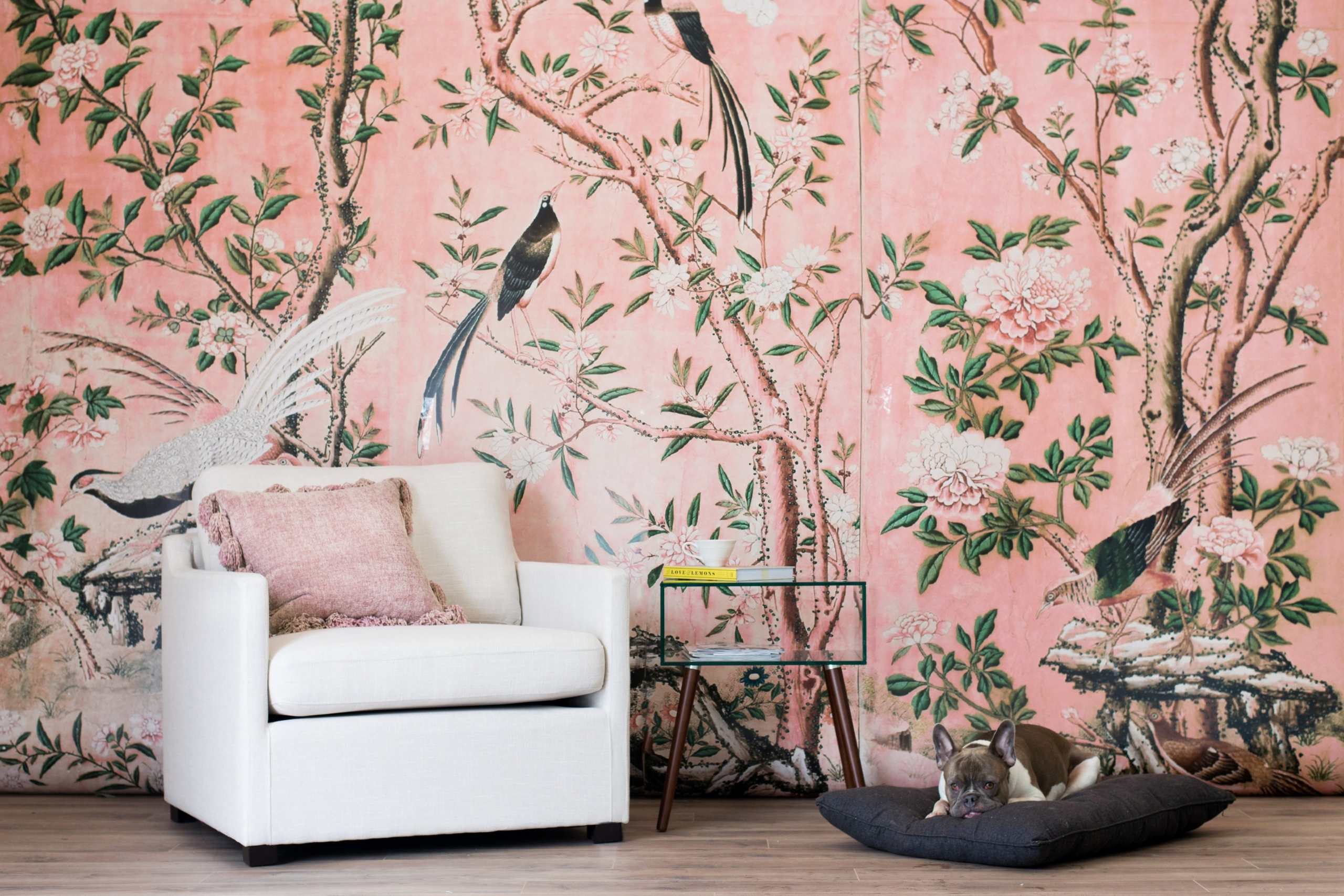 Get Chinoiserie Wallpaper Done on Your Laptop