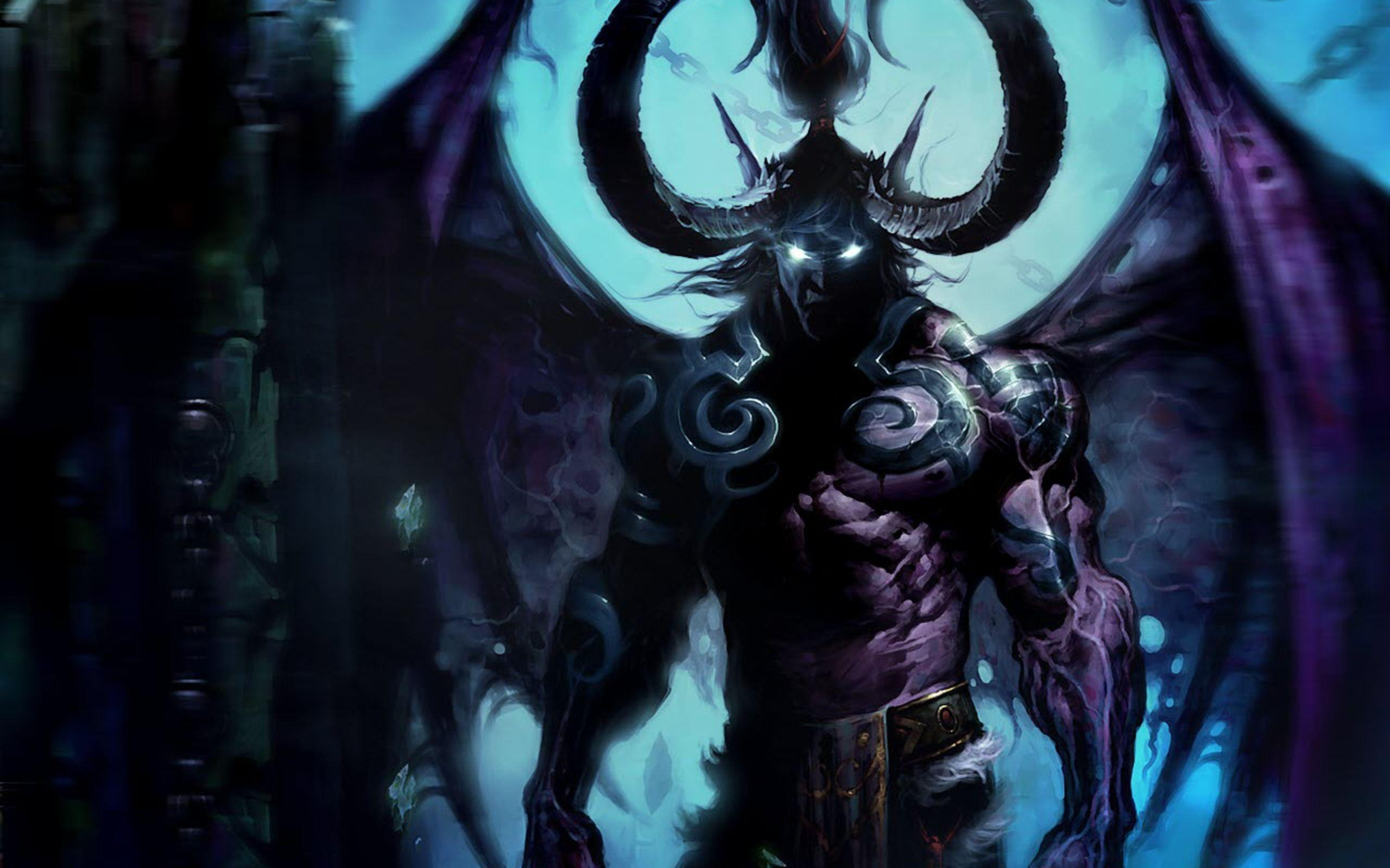 Demon Wallpapers With Demonic Features