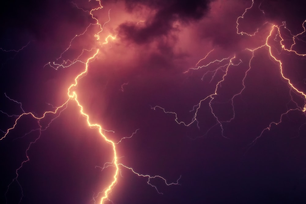 Change Your Cell Phone Background With Lightning Wallpaper