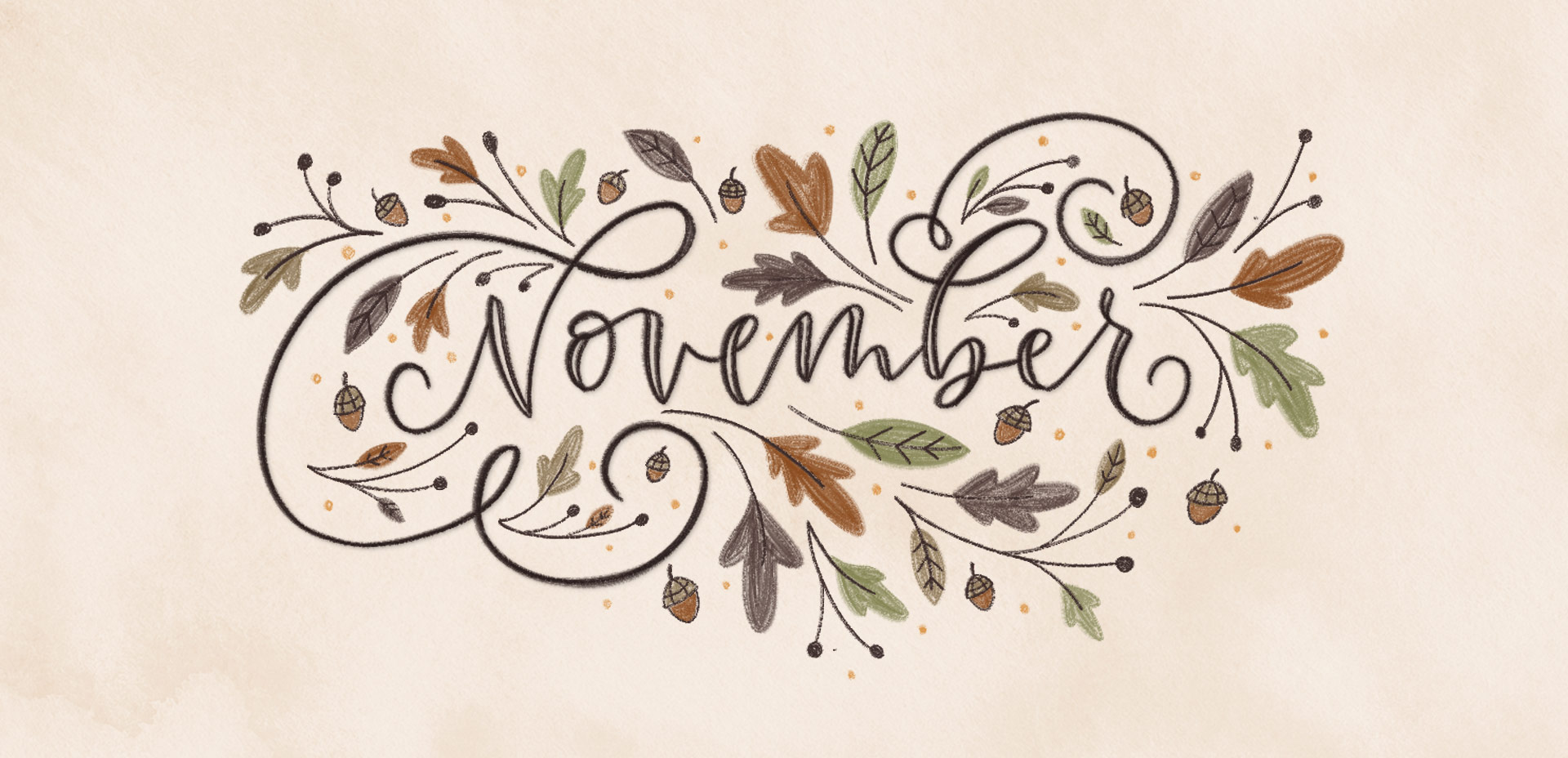 How to Create a New Look With Novelty November Wallpaper