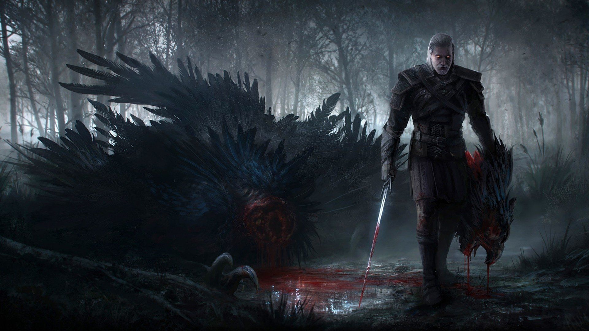 The Witcher Wallpaper Set For Mobile Phones