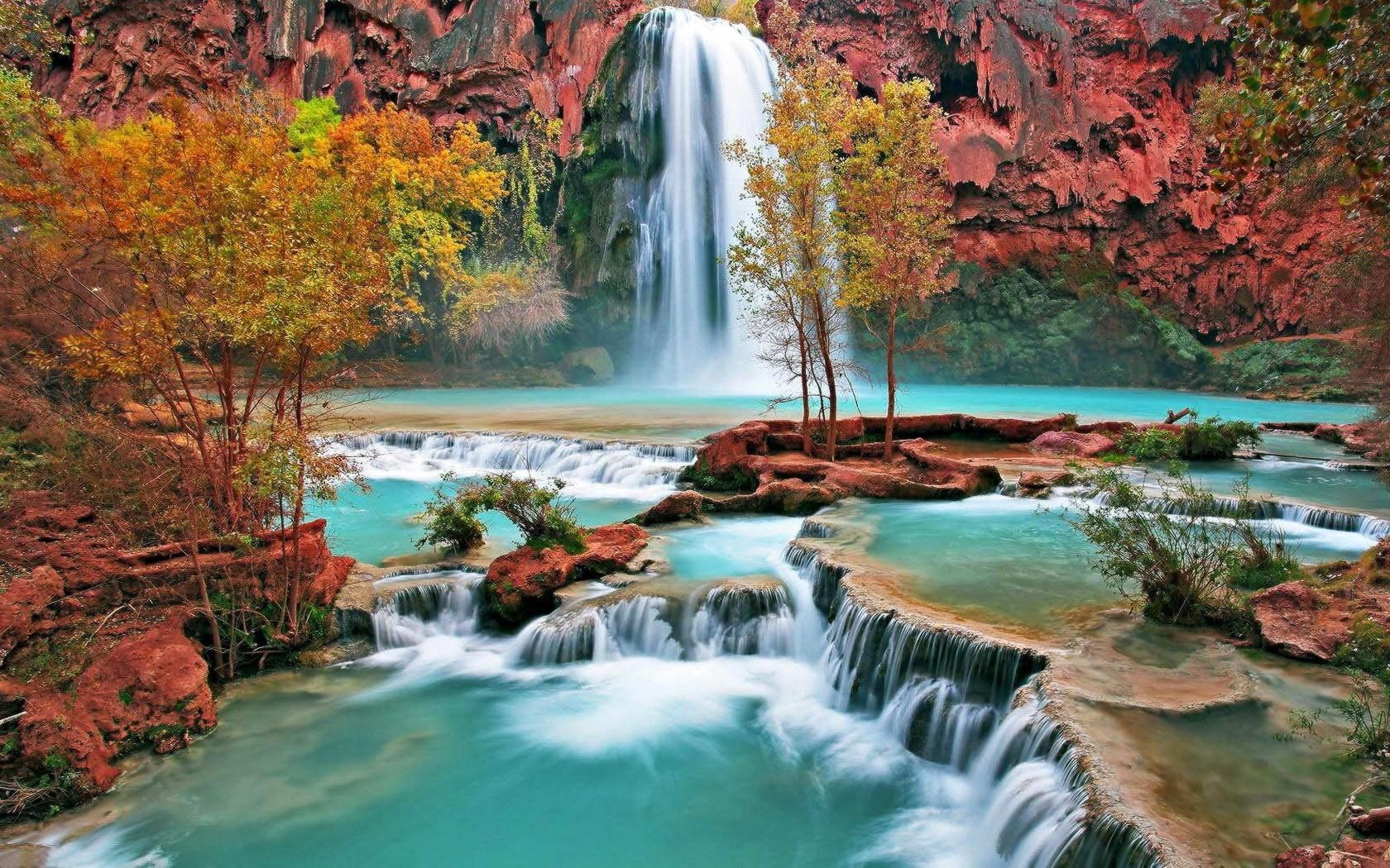 Waterfall Wallpaper – Relaxing, Refreshing Images of Nature