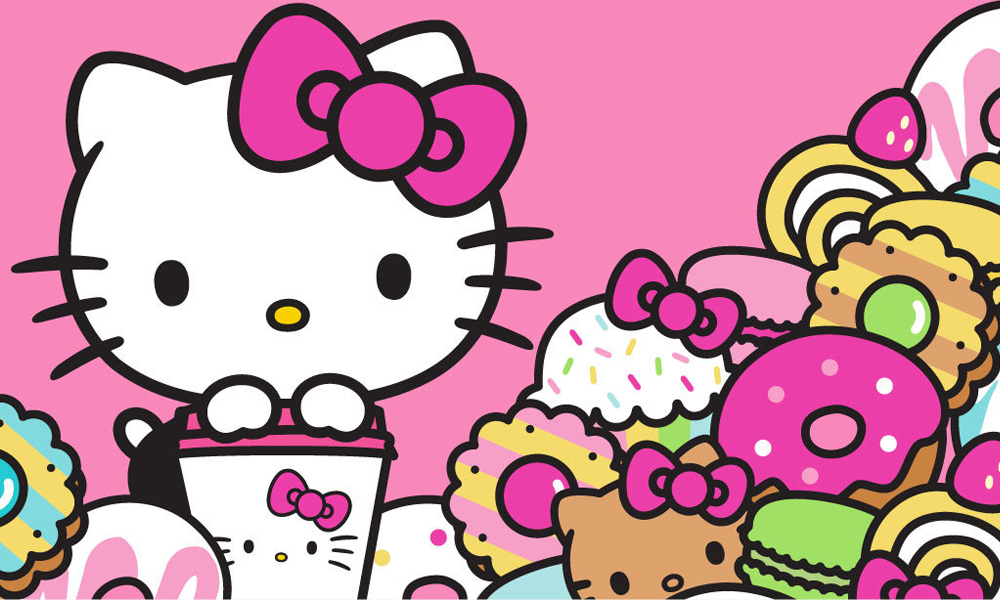 Hello, Kitty Wallpaper – Your Charm is Always Next to God