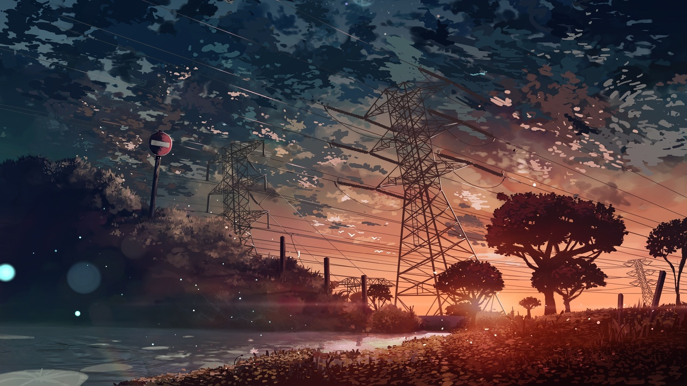 Anime Landscape Wallpaper – Your Dream Is Here!