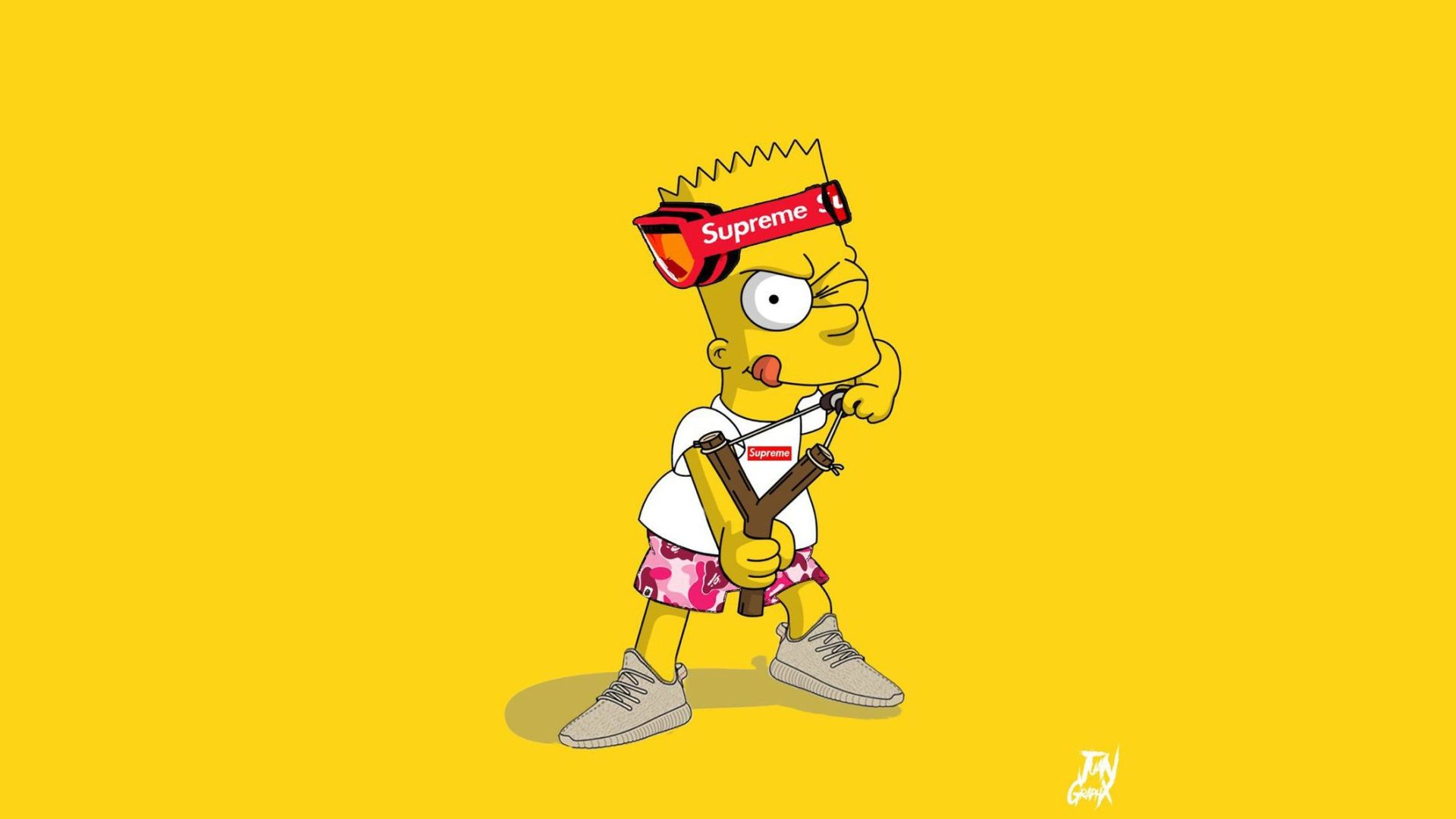 Bart Supreme Wallpaper – How to Use Wallpaper
