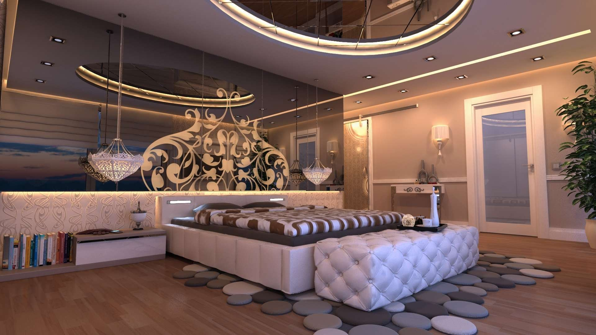 How to Choose the Best Wallpaper Modern Design For Your Master Bedroom Wallpaper