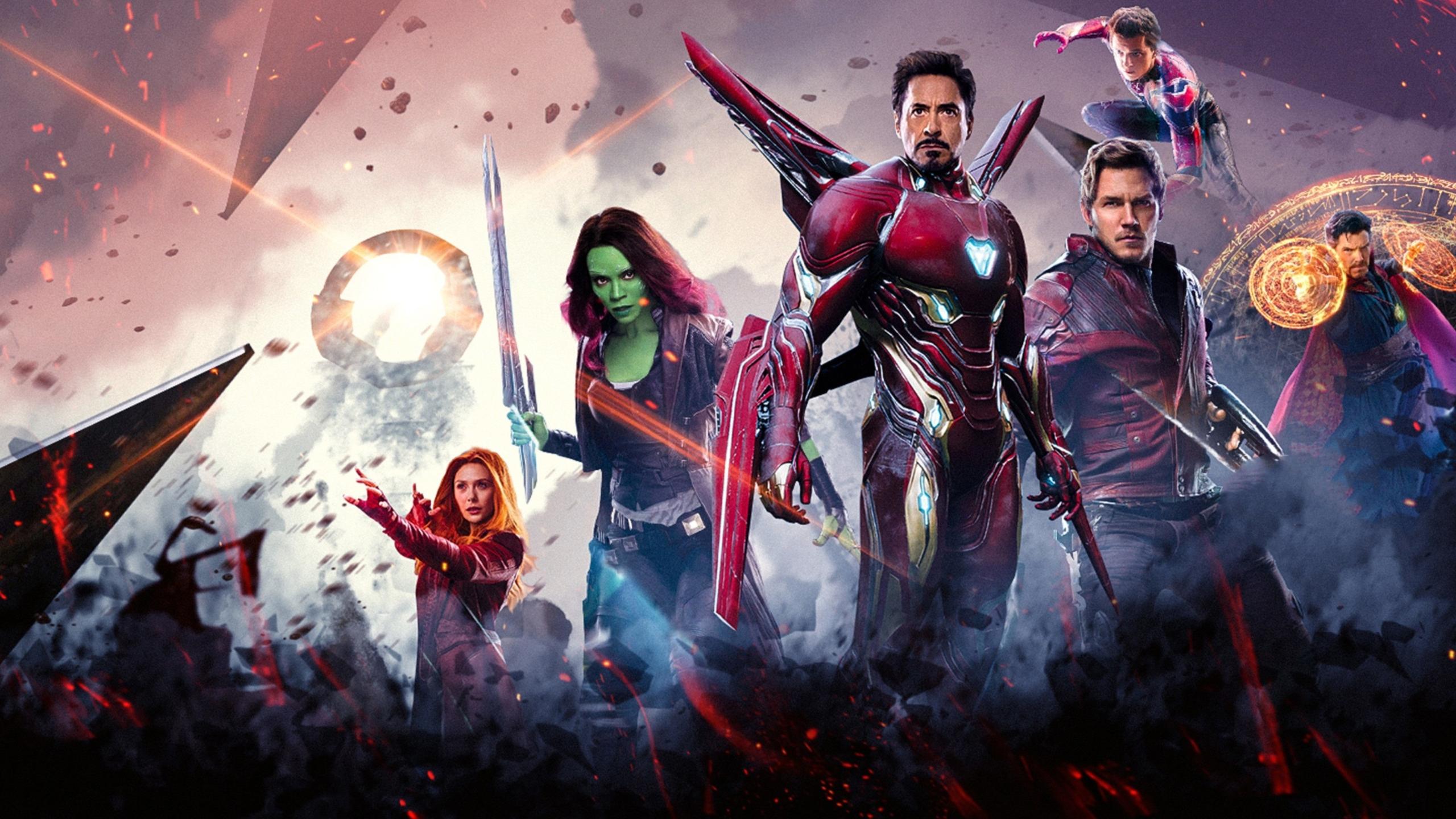 4k Avengers BackgroundWallpaper