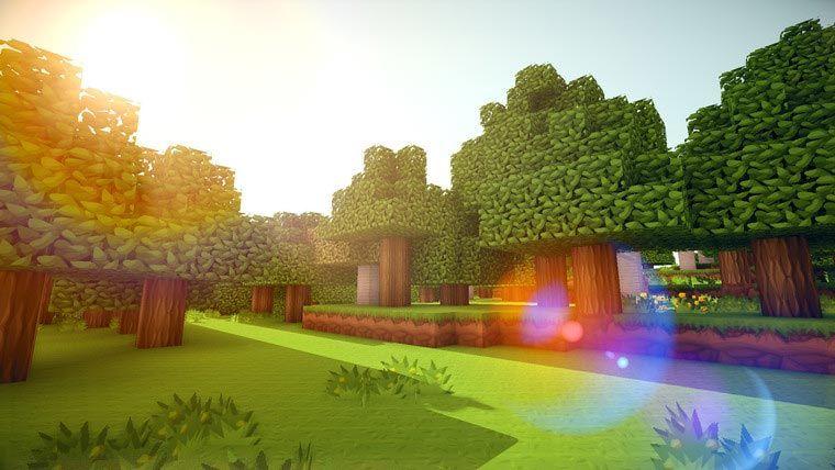 Epic Minecraft Picture design