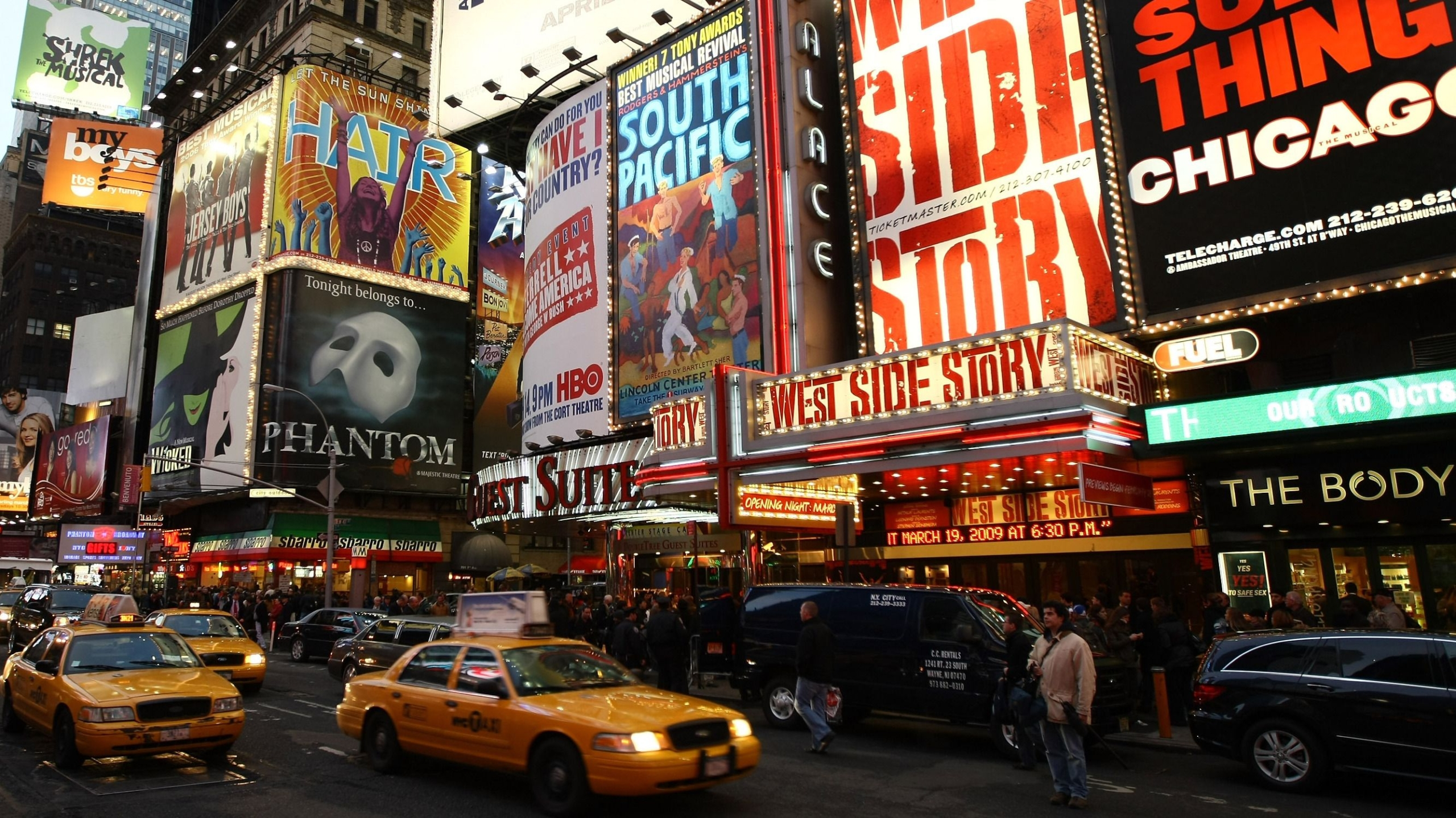 Broadway Wallpaper – Master Wall Murals For Any Room in Your Home