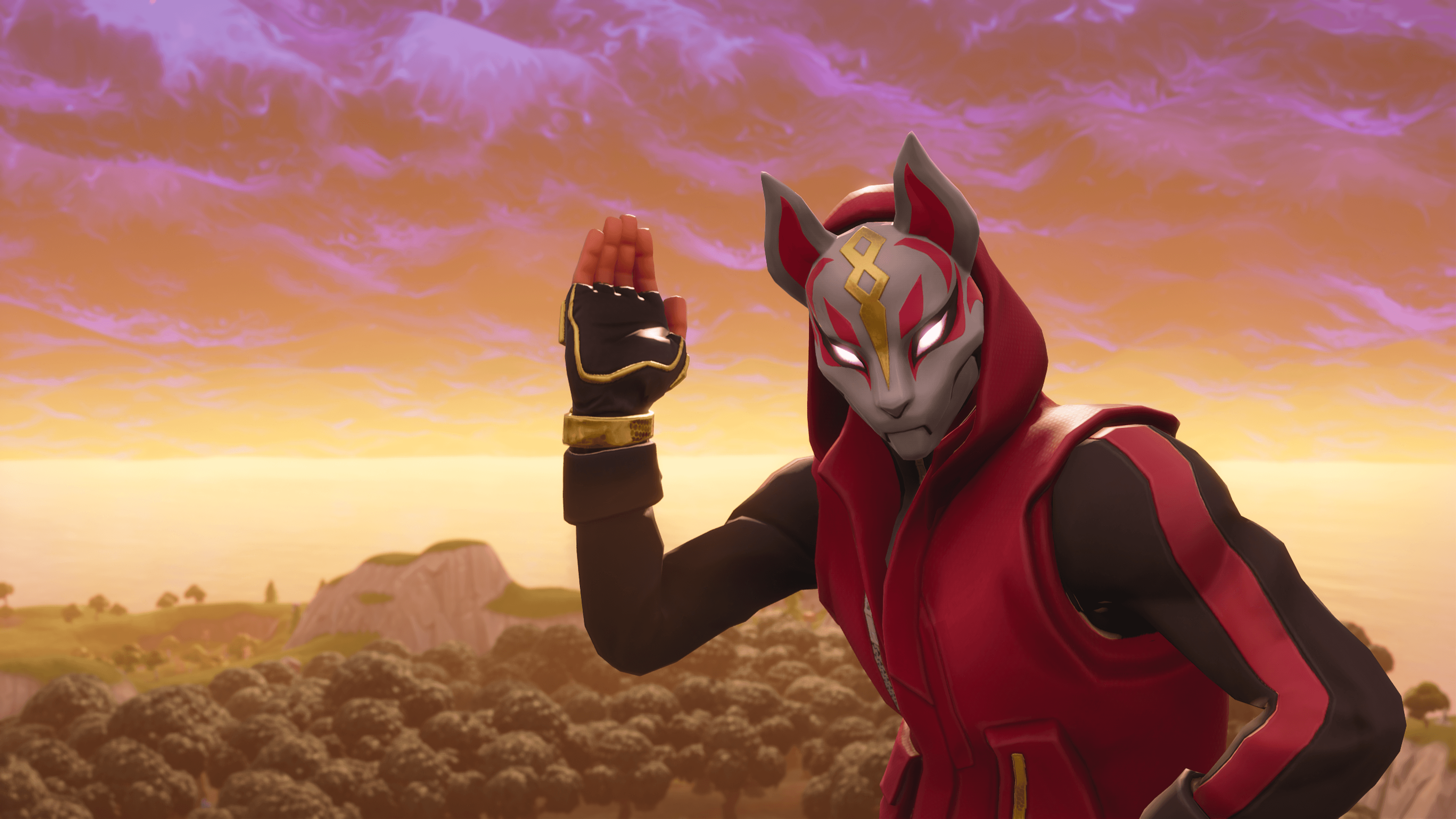 Get Rid of the War Zone With Drift Fortnite Wallpaper
