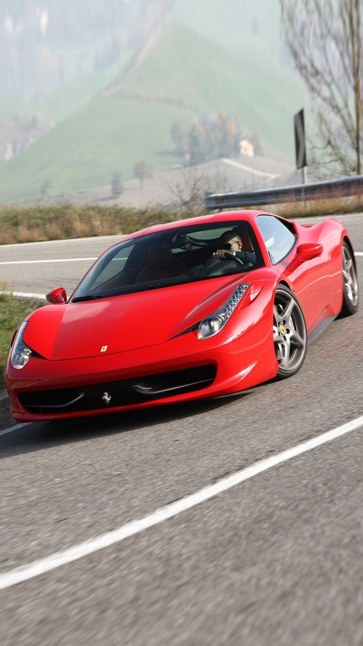 Download Free Ferrari Background for Your iPhone