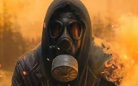 Best Picture design – Gas Mask Wallpaper
