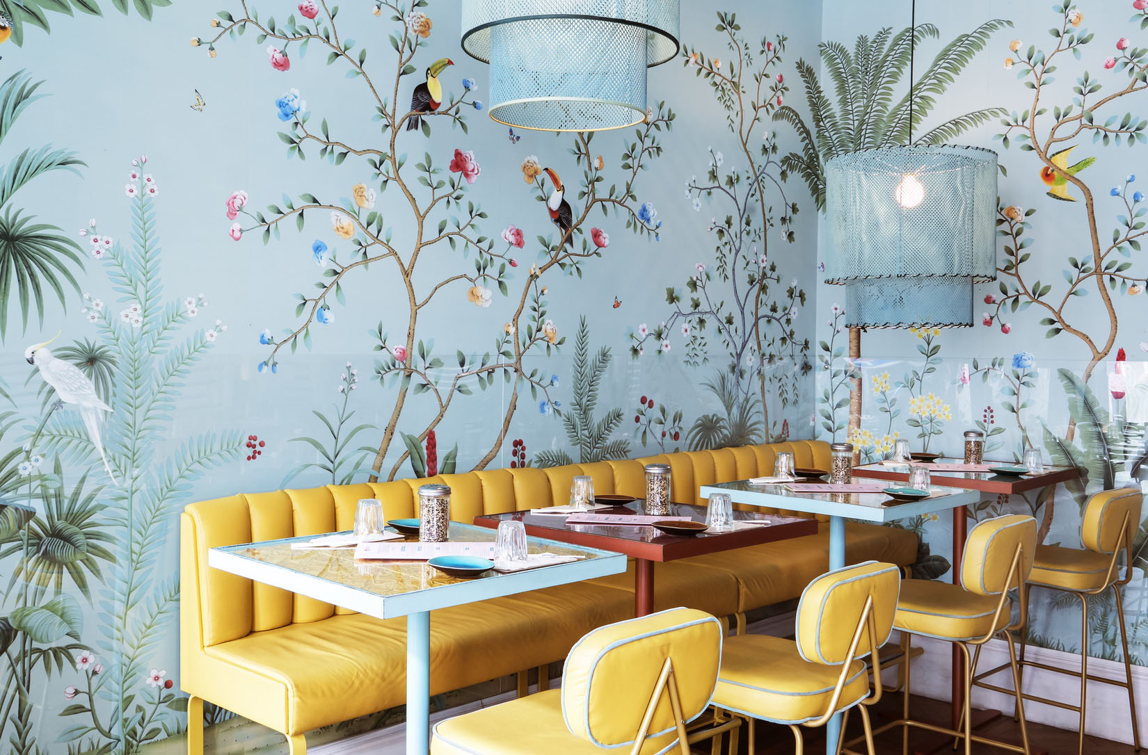 Innovative Hand Painted Wallpaper Picture design Ideas