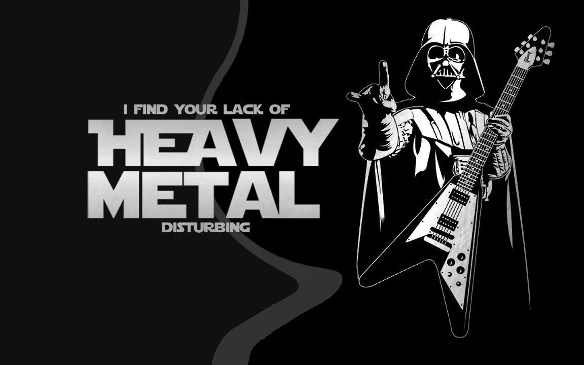 Heavy Metal Wallpaper – Inspirational Background for a Hardcore Music Lover