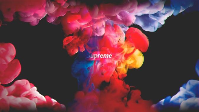 Unparalleled Creativity in Supreme Logo Wallpaper Picture design