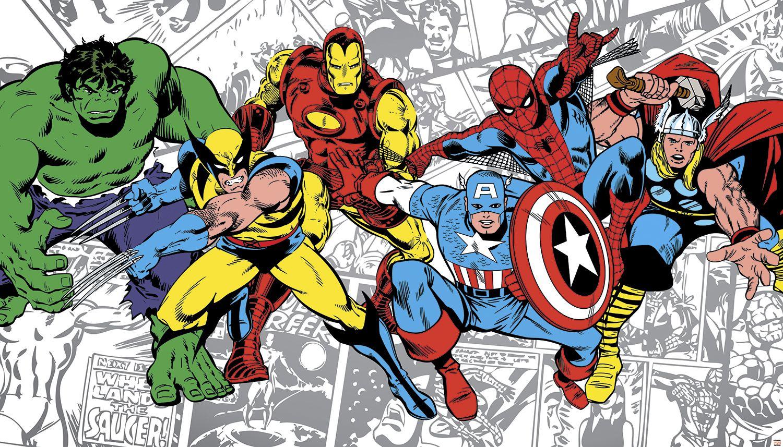 Marvel Comics Wallpaper – Downloading Your Favorite Comic Book Wallpaper