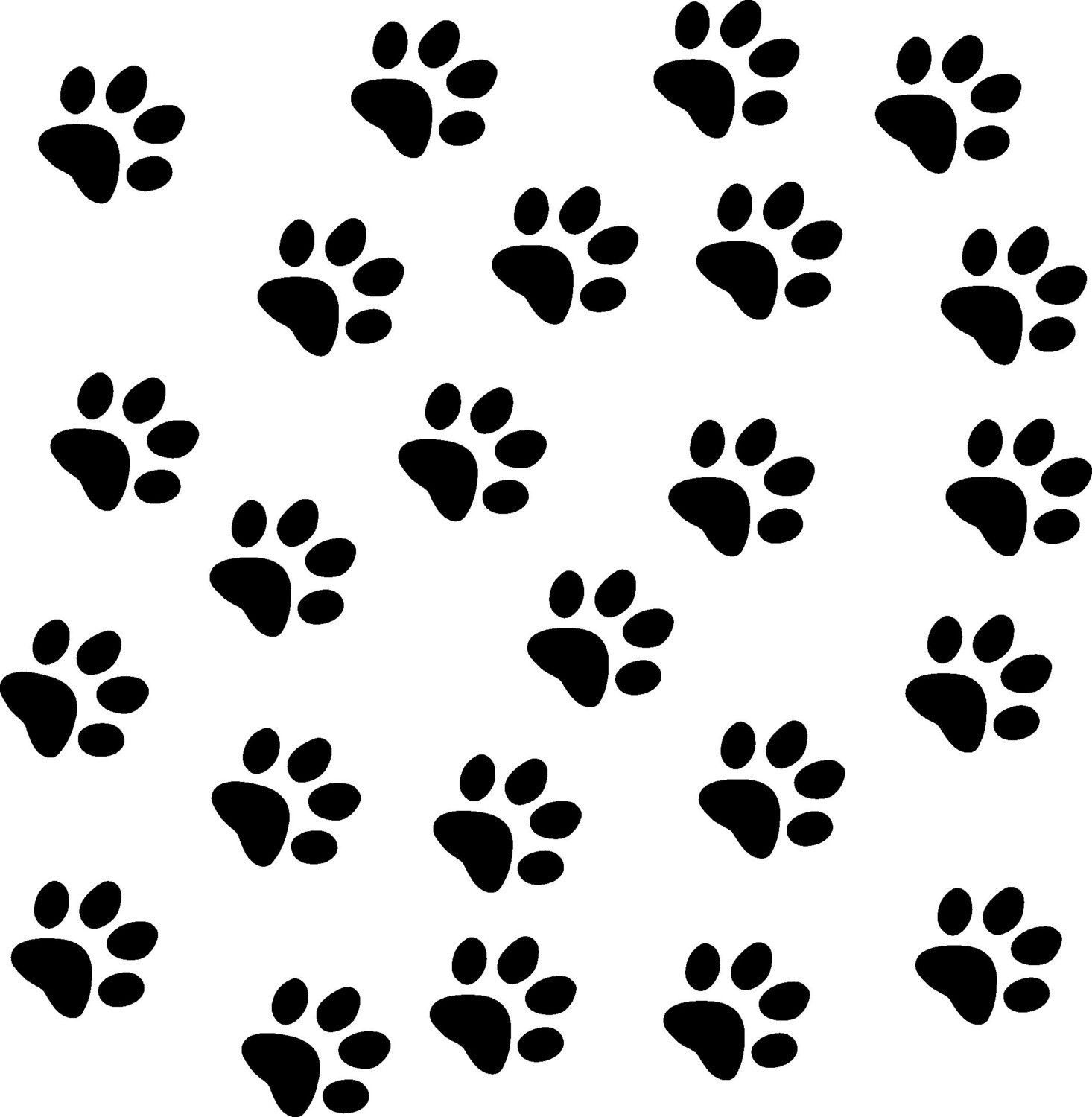 Creative Designs For Paw Print Picture Wallpaper
