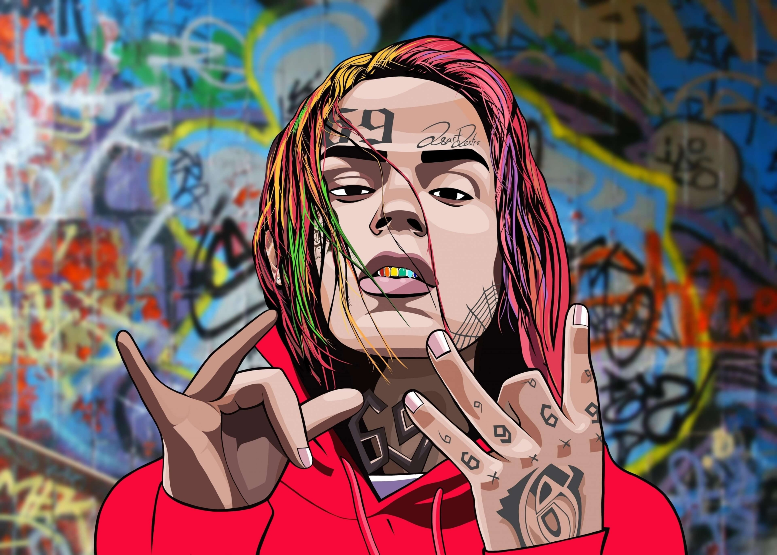 6ix9ine wallpaper – Why it is a Good background For Your Computer