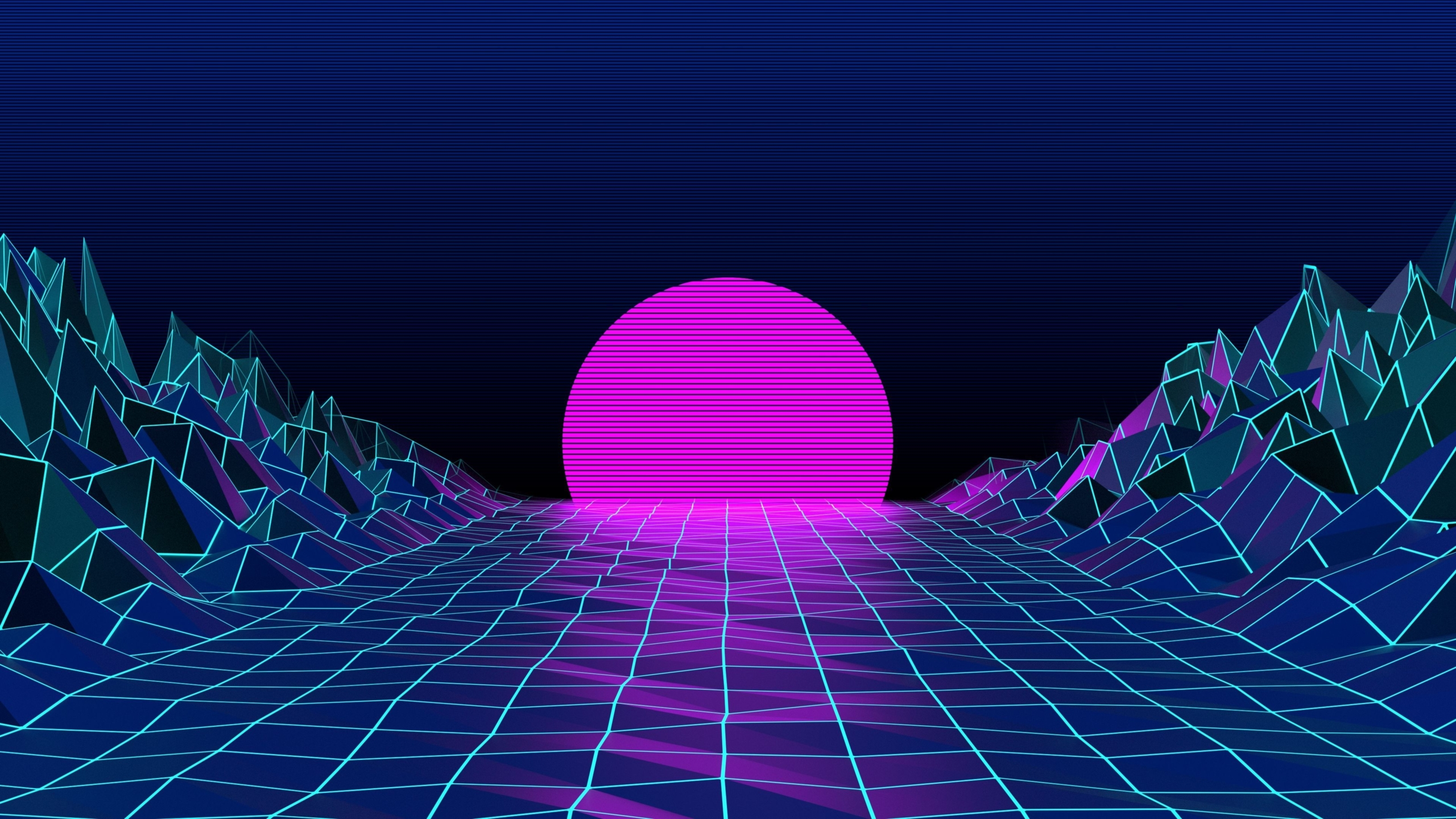 80's Retro Wallpaper