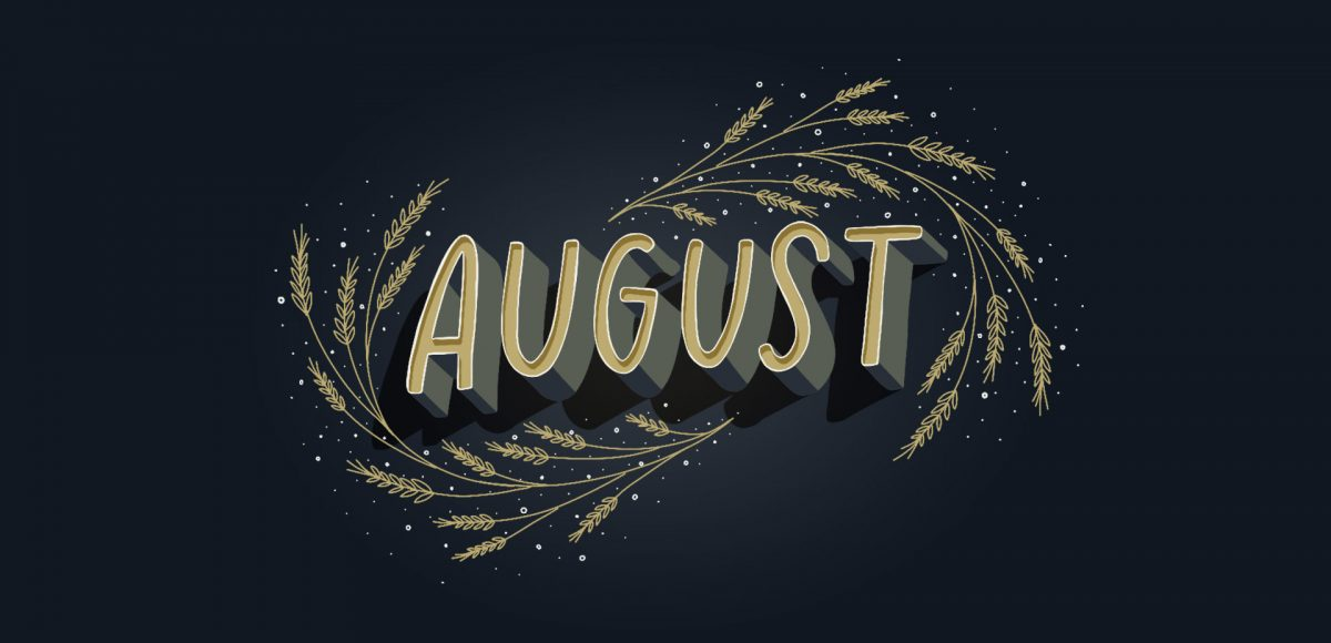 August wallpaper design ideas for your computer