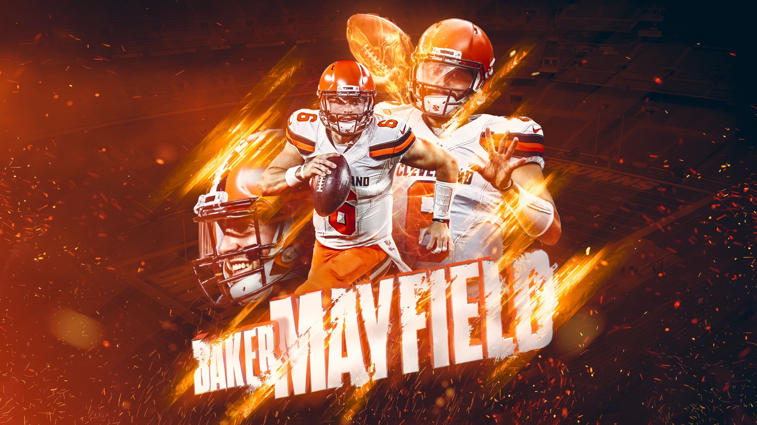 Baker Mayfield Wallpaper – The Best background For Country Style Decor