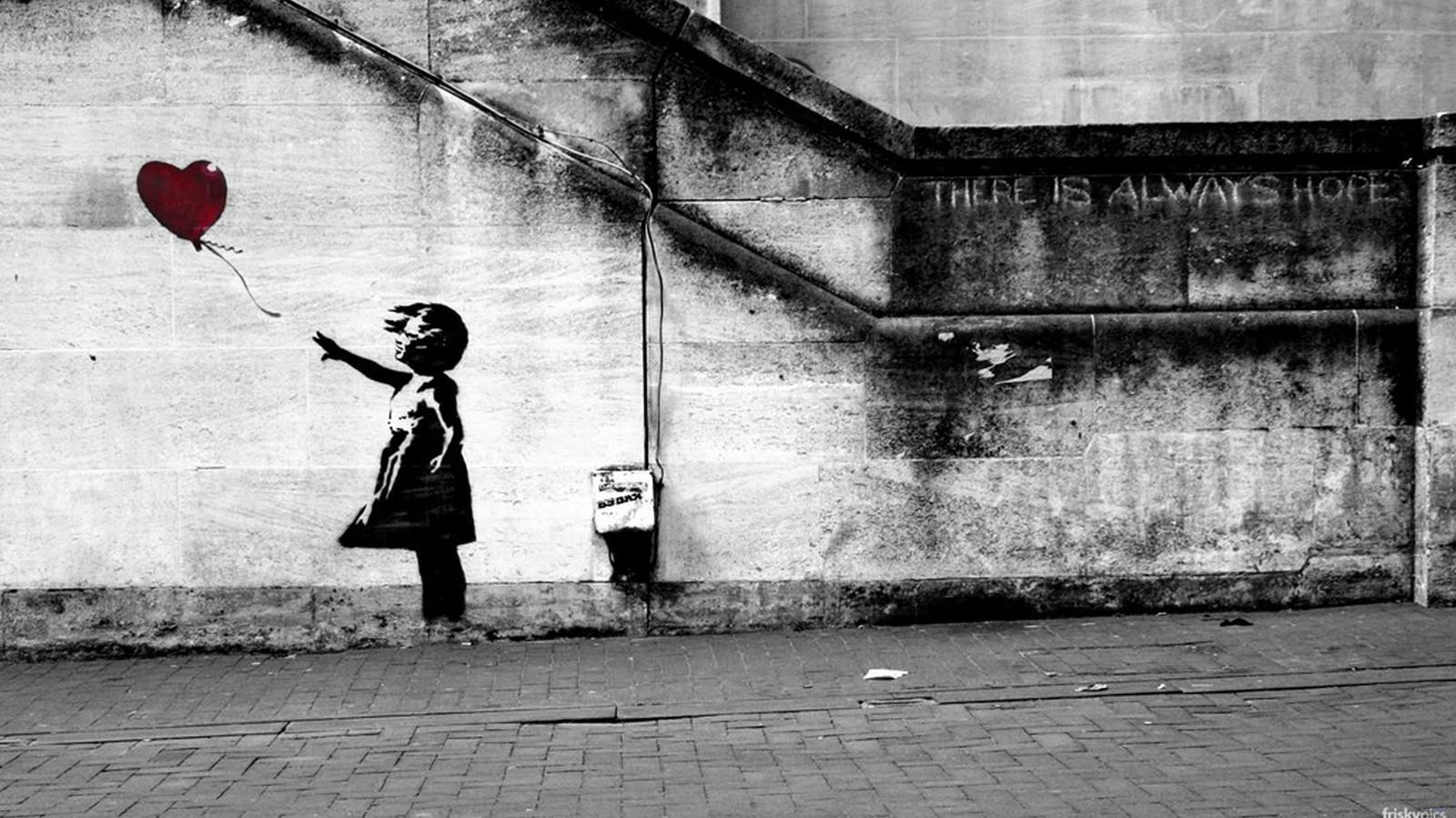 Unique And Famous Banksy Wallpaper