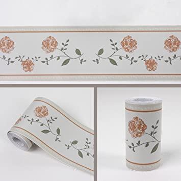 Bathroom Wallpaper Borders – Add Interest With Unique Design Ideas