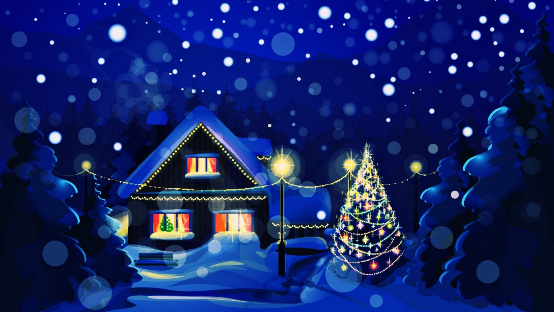 Decorating Beautiful Christmas Wallpaper