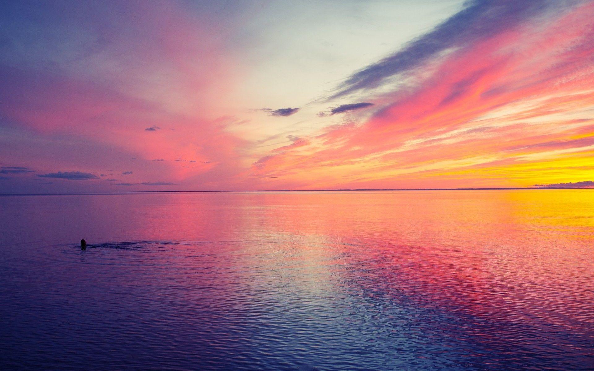 Beautiful Sunset wallpaper Design – Beautiful Wallpaper designs