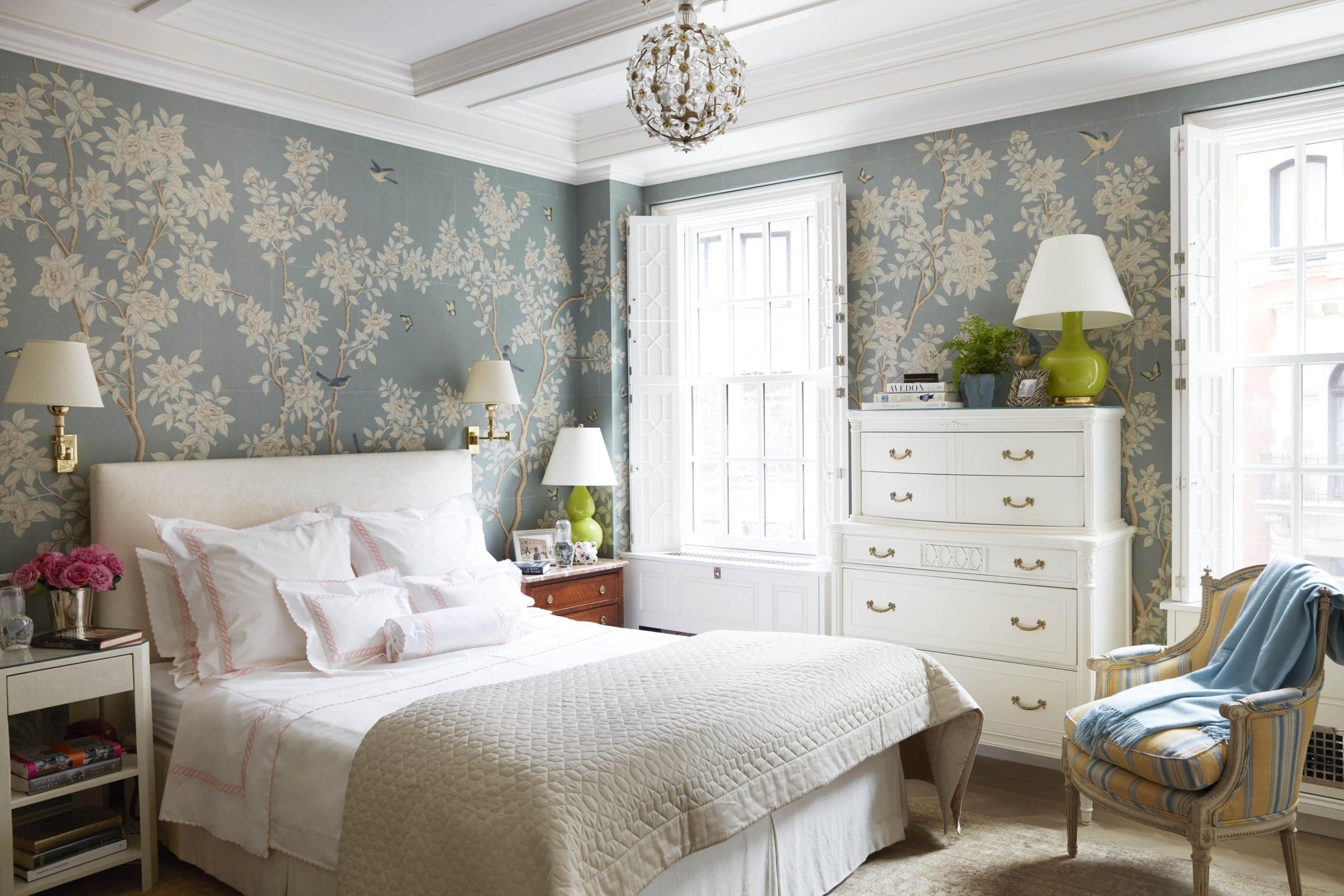 A bedroom wallpaper design ideas
