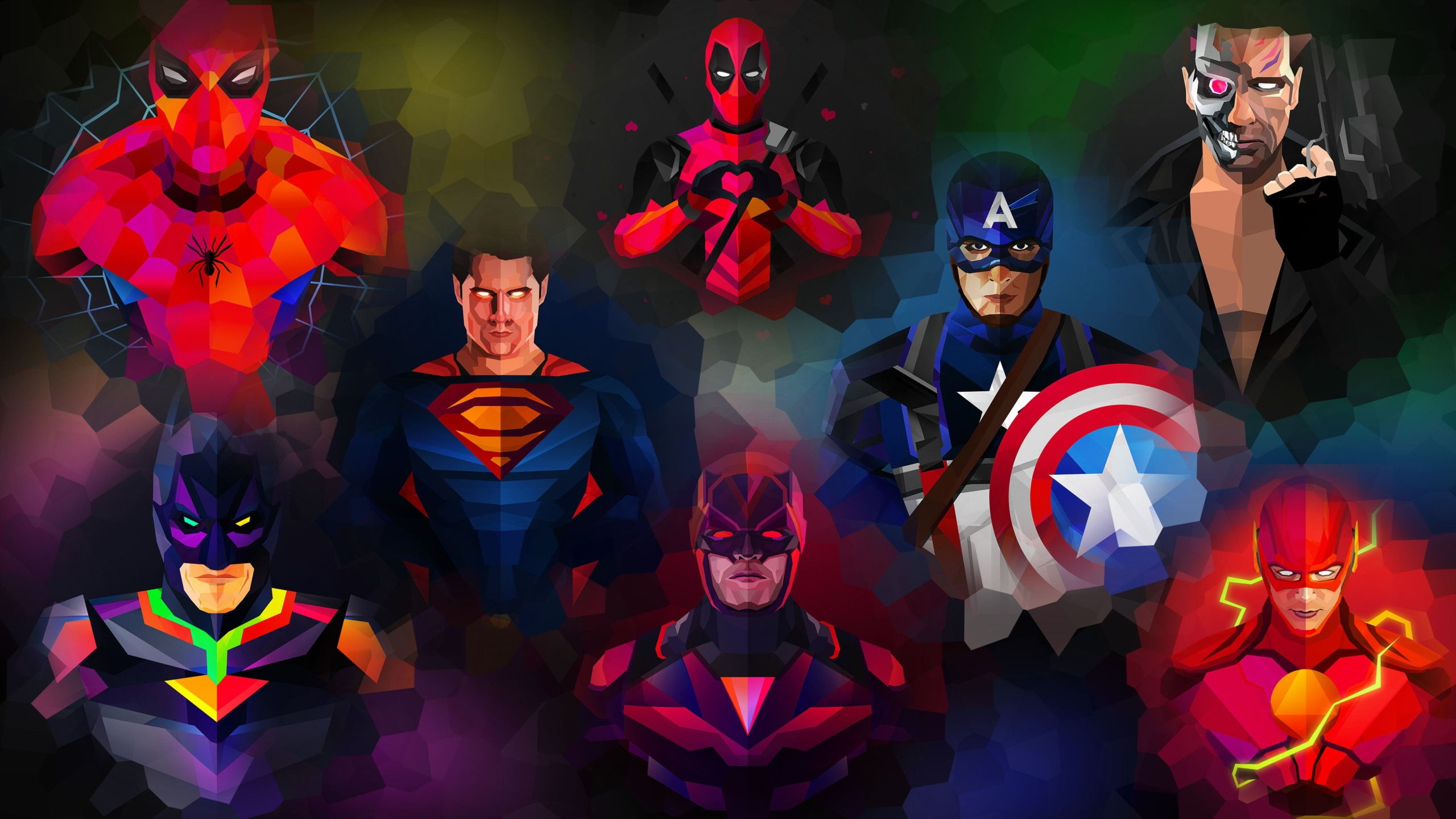 Best Marvel Heroes Wallpaper Designs