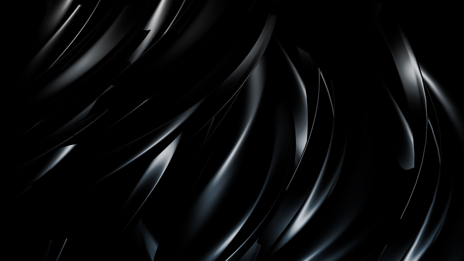 Black Abstract Wallpaper Adds a futuristic Twist to Your Room