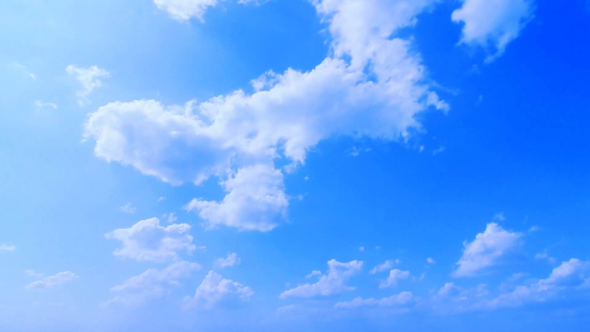 Experience the Freedom With Blue Sky Wallpaper