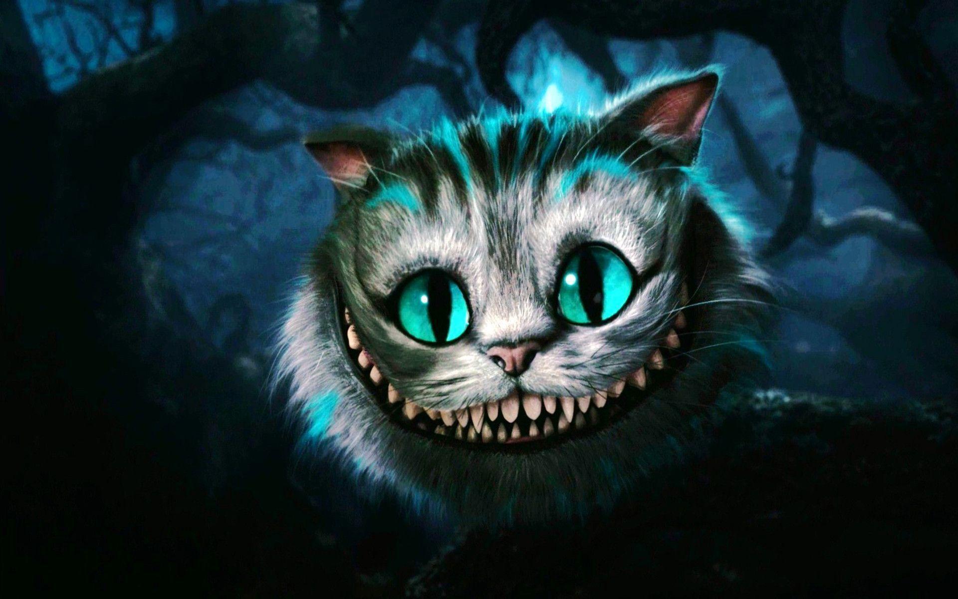 Unique Cheshire Cat Wallpaper