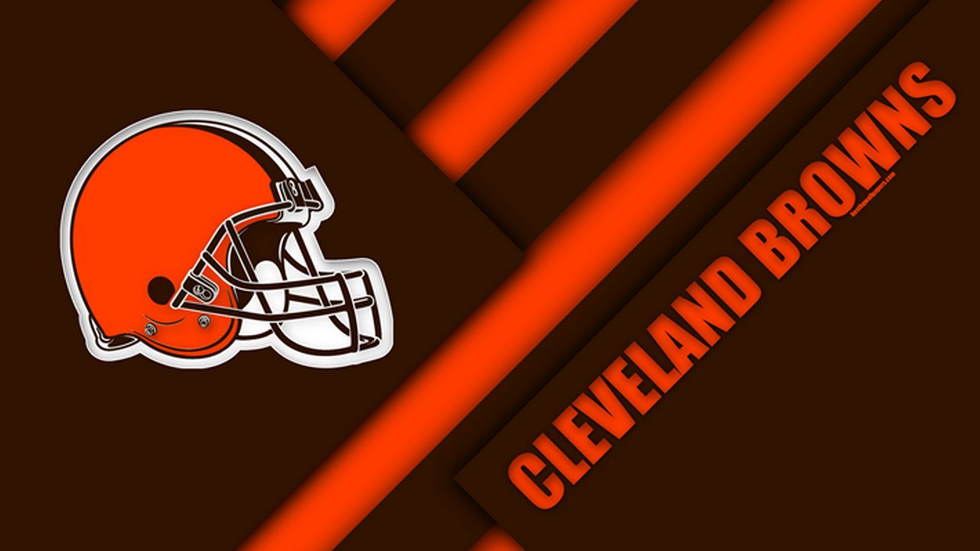 Bring a Touch of Home to Your Living Space With Cleveland Browns Wallpaper